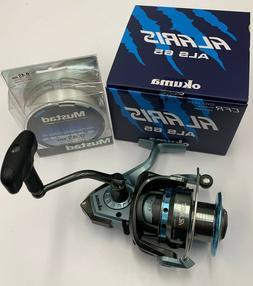Okuma ALS-65 Alaris Freshwater Inshore Spinning Fishing Reel