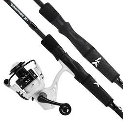 KastKing Crixus Fishing Rod and Reel Combo, Spinning and Cas