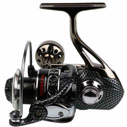 Sougayilang Fishing Reel 12+1BB Light Smooth Metal Spinning