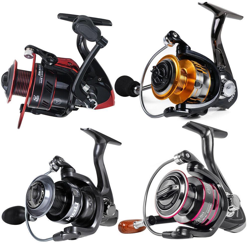 all models powerful spinning fishing reels metal