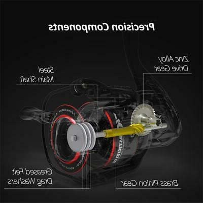 KastKing Reel Lure Reels Capacity Spool 17.5 LB