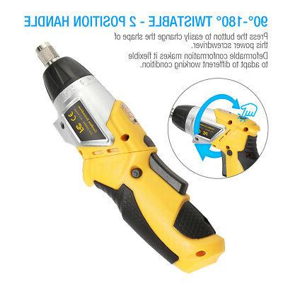 Electric Cordless Battery Drill LED