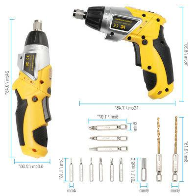 Electric Screwdriver Household Battery Driver LED