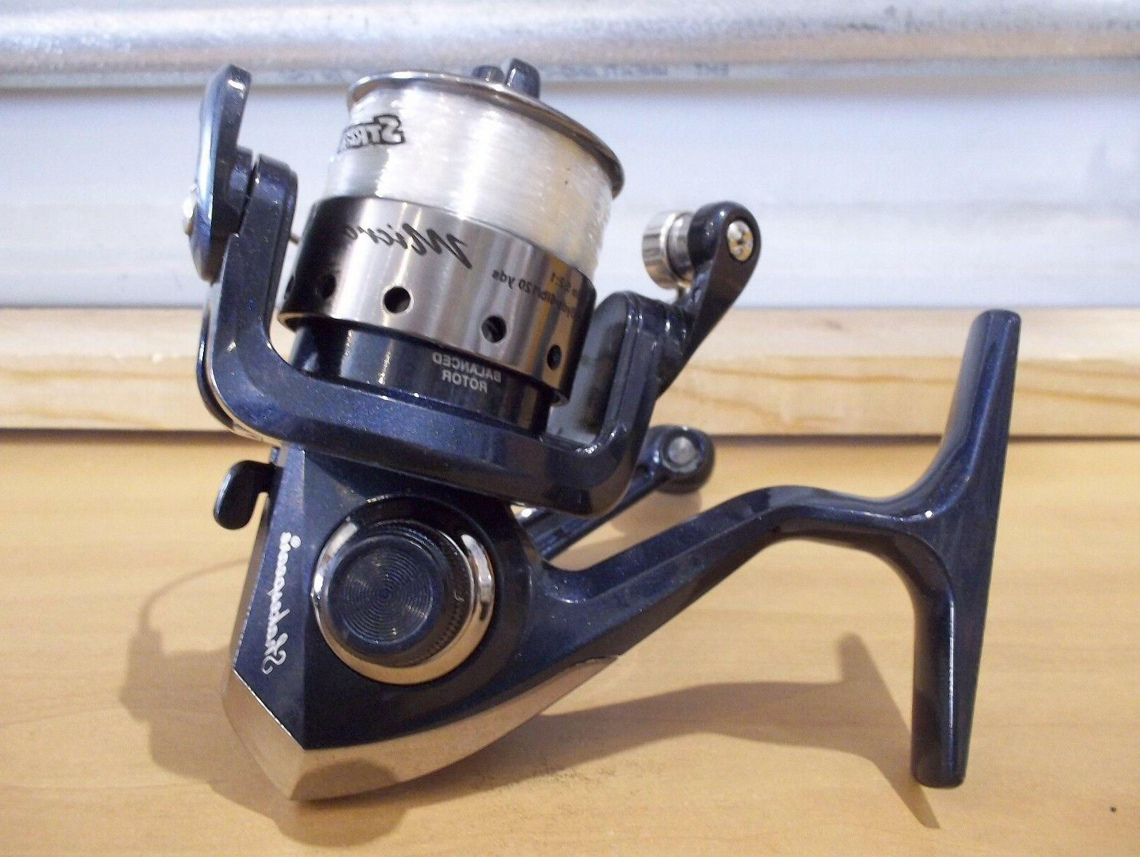 micro series ms2sp20bl blue spinning reel new