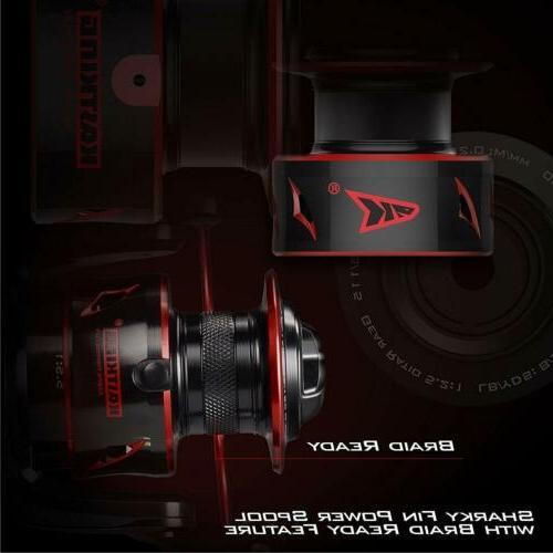 KastKing Sharky Baitfeeder 3000 Spinning Liner Reels + Spool