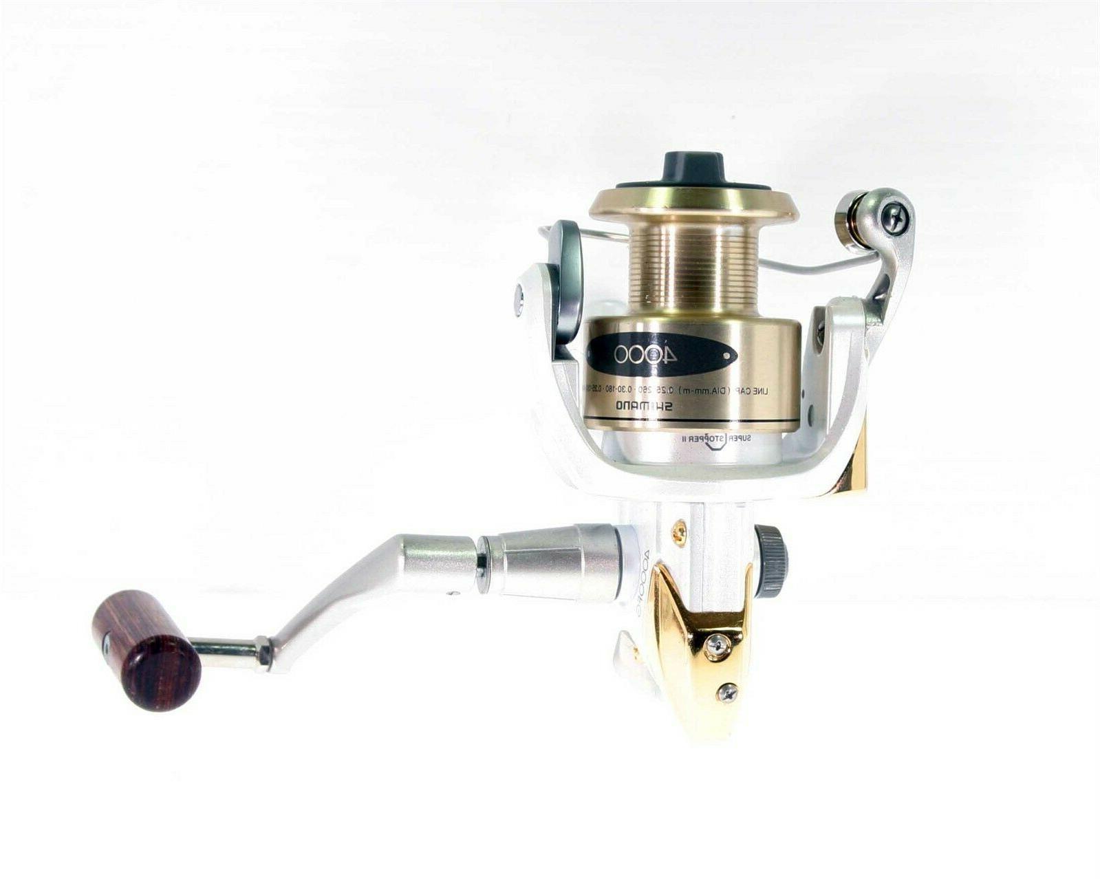 Shimano 4000FG Spinning Fishing Reel ~ NOS