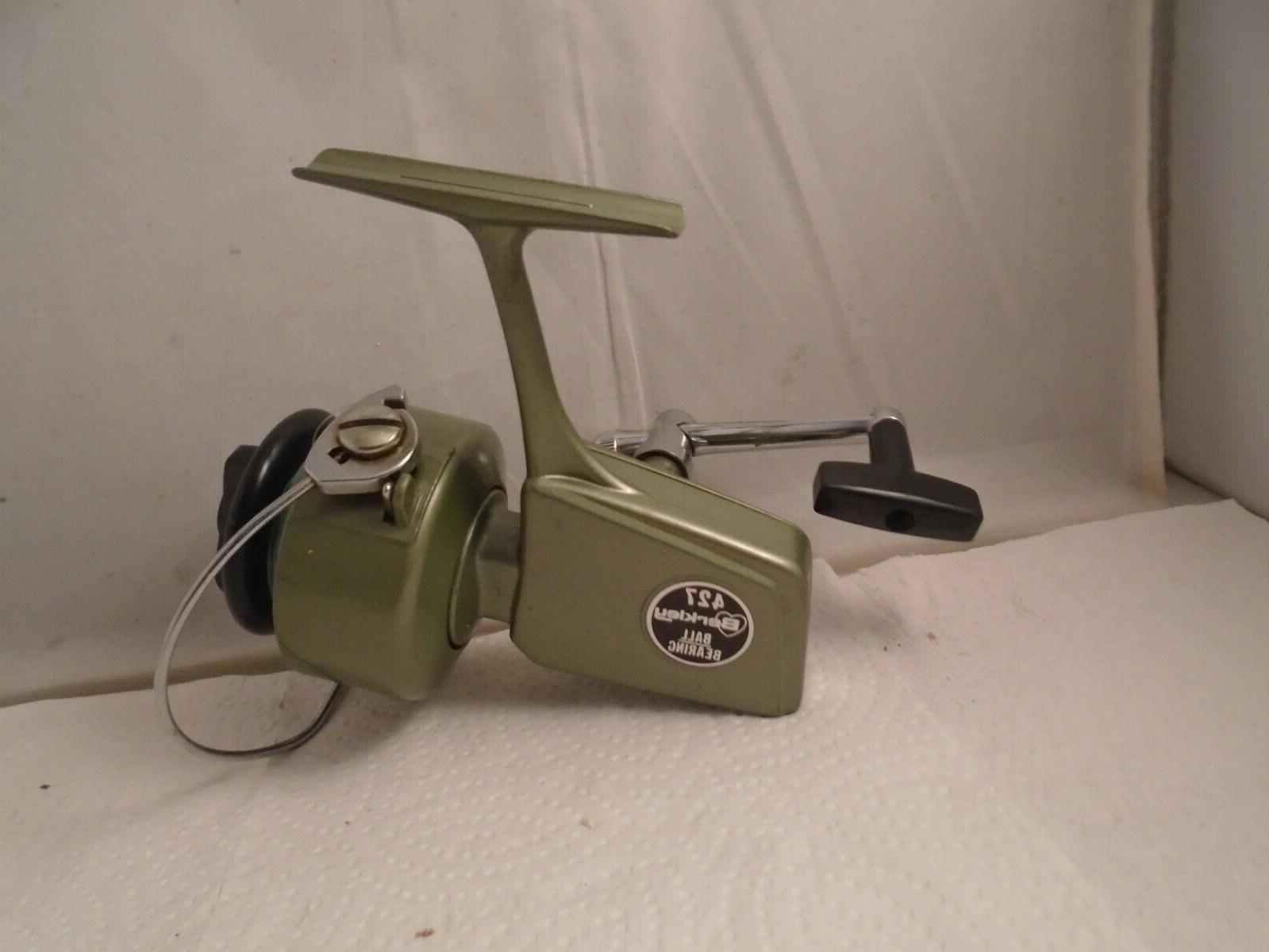 vintage ball bearing 427 fishing spinning reel