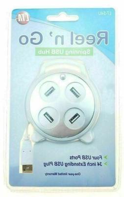 NEW Seald CTA Digital 4 Port USB Spin Reel