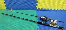 "Zebco Spinning Combo Rhino 6' 6"" Rod RNS66MWG With Optix OP4"