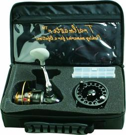 Eagle Claw Trailmaster Travel Kit Spinning Reel with Bag